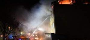 Stockholm'de yangın : 10 kişi yaralandı
