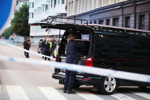 Saldırıda yaralananların orada geçen normal insanlar olduğu ifade ediliyor.