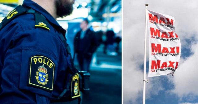 Karlskoga'daki bir Ica Maxi mağazasında bir kişi bıçakla ağır yaralandı.  Olayla ilgili açıklama yapan bölge polisi, yaşanan olayı ağır saldırı olarak değerlendirdi.  Bergslagen bölge polis sözcüsü, bir kişinin hırsızlık yaptığı şüphesiyle kasada durdurulması üzerine olayın çıktığını ifade ederek, saldırganın salladığı bıçağın bir kişinin koluna gelerek ciddi şekilde yaralanmaya neden olduğunu belirtti.