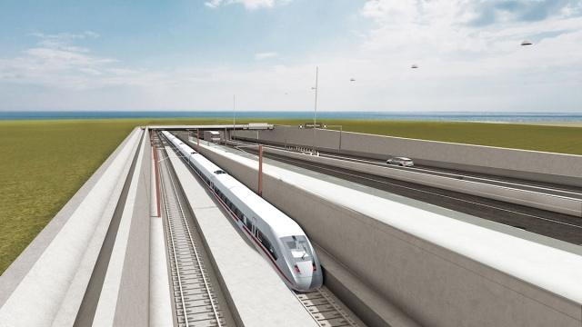Danimarka'yı Almanya'ya bağlayacak ve Malmö ile Hamburg arası araç trafiğini altı saatten üç saate düşürecek tünelin temeli atıldı.  Danimarka, Almanya'ya giden 18 kilometre uzunluğundaki tünelin inşaatına resmi olarak başladı.  Danimarka Rødby'yi Almanya'nın Fehmarn adasına bağlayacak tünelin 2029'da tamamlanması planlanıyor.