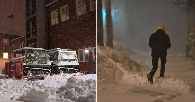İsveç'te etkili olan kar yağışı bir çok bölgede hayatı olumsuz etkiliyor.  Ångermanland için en yüksek risk sınıfı olan üçünü sınıf uyarı yapıldı.  Kar yağışının etkili olduğu bölgelerde beklentilerin üzerinde olumsuz etkiler yaratıyor.  Ångermanland'da kar yağışı nedeniyle bölgedeki okullar kapatıldı.  Güney Jämtland dağlık bölgede, çığ düşme riski yükse uyarısı yapıldı.