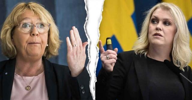Covid-19 testleri ile ilgili Svenonius ve Hallengren arasında anlaşmazlık nedeniyle Stockholm ve hükümet arasında çatlak şeklinde algılandı.  Hükümet ile Stockholm bölgesi arasında, koronavirüsle ilgili konusunda görüş farklılığı olduğu ortaya çıkarken, sosyal açıdan önemli işleri olan kimin test edeceği konusunda bir tartışma ortaya çıktı.