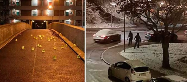 İsveç'in başkenti Stockholm'de iki çete arasındaki uzun süren çatışmalar nedeniyle Şafak baskınında iki kişi gözaltına alındı.   Stockholm'ün güneyinde yaşanan çete çatışmalarını uzun süre izleyen ve takip eden İsveç polisi, olaylara ilişkin açıklamalarda bulundu.  İsveç basınında da yer alan haberlere göre, çete onlarca silahlı saldırı ve şiddet olaylarına karıştı.