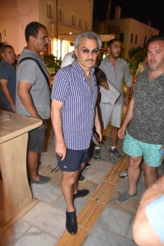Bodrum tatilinin son gününde Suudi Prens El-Velid bin Telal bin Abdülaziz el Suud, akşam yemeğine 40 bin TL hesap ödedi.