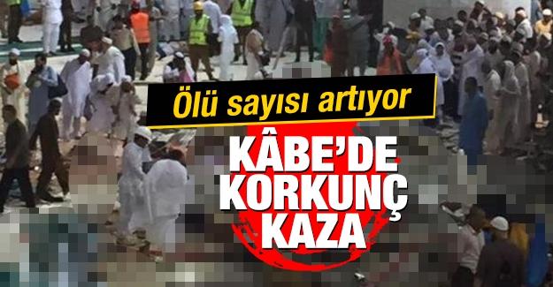 Aralarında Türk hacılarında bulunduğu toplam şuana kadar en az 107 kişinin yaşamını yitirdiği ve yüzlerce yaralının olduğu kazadan son gelen görüntüler...