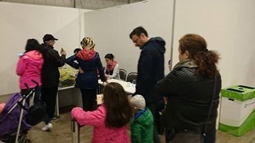 Yurtdışında yaşayan gurtbetçi vatandaşları 2015 Türkiye genel seçimleri için birçok ülkede olduğu gibi İsveç'te de sandık başında...