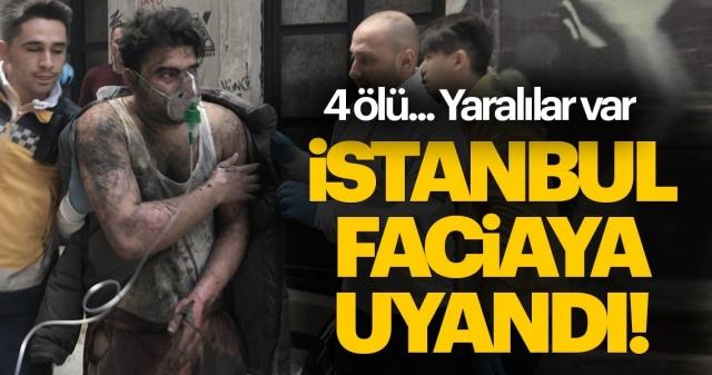 """Bu sabah İstanbul faciaya uyandı! İstanbul'un Beyoğlu ilçesinde 5 katlı bir binanın 2. katında henüz bilinmeyen bir nedenle yangın çıktı. İhbar üzerine bölgeye çok sayıda itfaiye sevk edildi. Binada mahsur kalan vatandaşlar itfaiye ekipleri tarafından kurtarılırken ajanslar acı haberi son dakika duyurdu. İlk berlirlemelere göre çıkan yangında 4 kişi hayatını kaybetti, iki kişi yaralandı. Dumandan etkilenen vatandaşlar ise hastaneye kaldırıldı. Yangın sırasında yardıma koşan Fatih Kalp, o anları şöyle anlattı: """"Sabahleyin bir baktık ki içerisi yanıyor. Daha sonra durumu itfaiye ve sağlık ekiplerine ildirdik. İçeride 5 kişi vardı. İçeride 4 kişi mahsur kaldı. Bir kişiyi biz çıkarttık, diğer 4 kişi içeride bağırıyordu."""""""