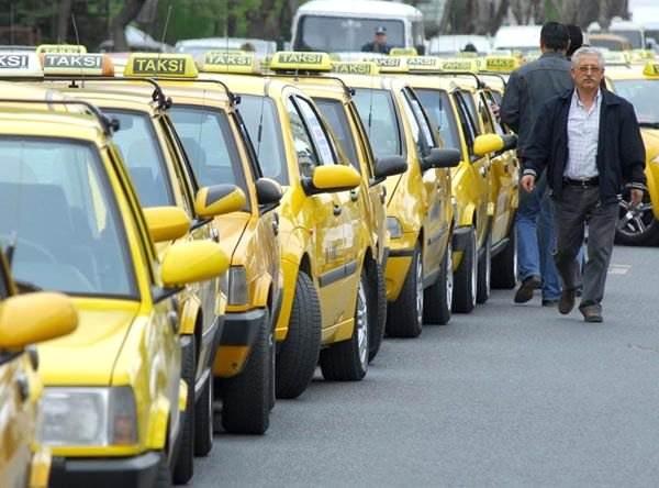 10-Taksi şöförlüğü
