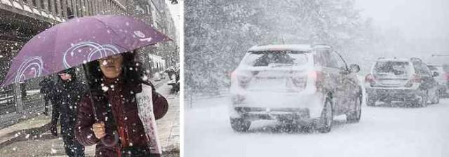 İsveç'te iki gündür etkili olan soğuk hava ve kar yağışı hayatı olumsuz etkilemeye devam ediyor. Başkent Stockholm başta olmak üzere İsveç'in birçok noktasında onlarca kaza meydana gelirken, hava ulaşımı da olumsuz etkilendi. İşte o görüntüler.