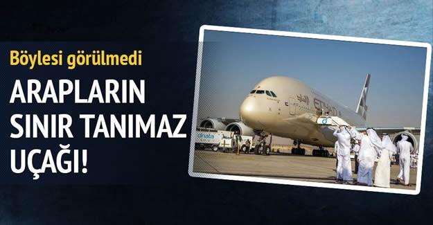 Birleşik Arap Emirlikleri'nin havayolu şirketi Etihad Airways neredeyse rezidans uçaklarıyla lükste sınır tanımıyor...