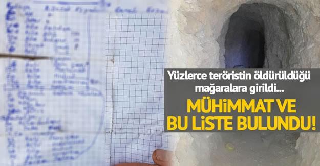 Türk Silahlı Kuvvetleri'nin, Hakkari'nin Çukurca kırsalında operasyonlarını devam ederken, 100'ün üzerinde kayıp veren PKK'lıların kullandığı çok sayıda mağara ve sığınak imha edildi.