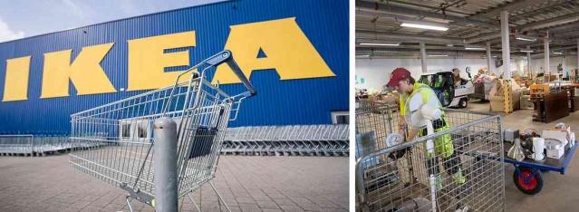 """Kullanılmış mobilyalar Ikea'yı iklim çalışmalarında ileriye taşıyacak ve daha ucuz ürünler satın alarak daha fazla müşteri çekebilir.  Mobilya devi bu sonbaharda Eskilstuna'da ikinci el ürünlerle yeni bir mağaza açacak.  Yaz aylarında Ikea, salgın nedeniyle kapatılan birçok büyük mağazayı kademeli olarak açtı. İsveç'te, mobilya devinin tüm büyük mağazaları açık tutuldu, ancak müşteri sayısı """"normal bir yıla"""" kıyasla önemli ölçüde azaldı."""
