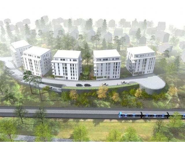 Stockholm'de planlaması devam eden ve inşaatına başlanan birçok proje bulunuyor. Bunlardan bir tanesi de Alvik'te yapılacak.