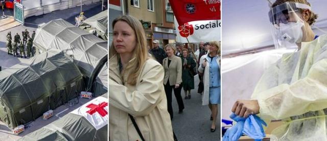 İsveç Halk Sağlığı kurumu ve süreci ortak yönettiği ilgili kurumların her gün yerel saatle 14:00'da basın toplantısıyla güncel verileri ve koronavirüsle mücadeleye dair bilgiler açıkladı. Gazetecilerin Stockholm'ün karantinaya alınması gerektiğini düşünen çok sayıda insan var sorusu ve diğer konulara dair tüm ayrıntılar.