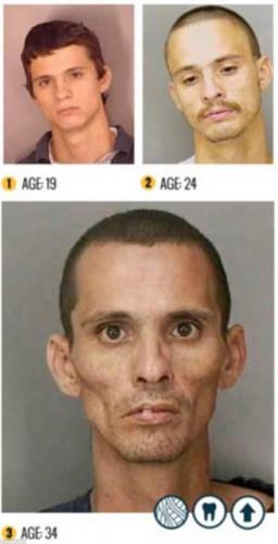 King, gözaltına alınan uyuşturucu bağımlıların fotoğraflarını çekip bunları arşivlemişti.