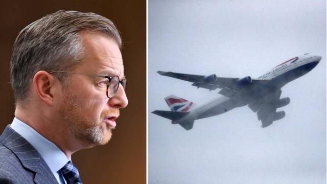 Koronavirüsün daha hızlı bulaşan mutasyonunun görüldüğü İngiltere'ye İsveç'ten uçuş kısıtlaması.  İsveç, İngiltere'den girişleri kapatma kararı alıyor. Hükümet yarın resmi bir karar verecek ve bu karar İngiltere'den gelen yolcuların İsveç'e seyahat etmelerine izin verilmeyeceği anlamına geliyor.