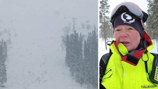 Pazar sabahı Sälen'deki Hundfjället'te çığ düştü.   Bölgede dağ kurtarma çalışmaları başladı.  Çığ nedeniyle kayak yapanlarla polis temas halindeydi. Edinilen bilgilere göre, çığın düştüğü sıralarda bölgede kayakçılar bulunuyordu.