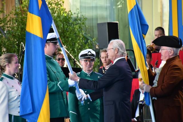 Maher Zain İsveç Ulusal Bayramı'nda konser verdi