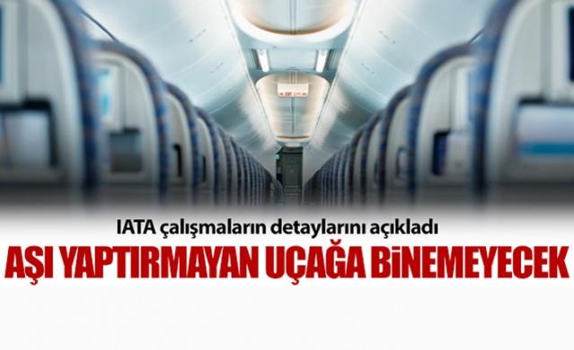 Uluslararası Hava Taşımacılığı Birliği (IATA) havayolu yolcuları ile ilgili önemli bir çalışma başlattığını duyurdu.  Koronavirüs aşısı ile ilgili gelişmeler, başta turizmciler olmak üzere tüm dünyada yakından takip edilmeye devam ederken, aşının zorunlu olup olmayacağı da merak konusu.