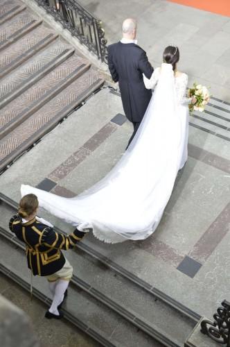 İsveç Prensi Carl Philip ve Sofia Hellqvist düğününden özel görüntüler.