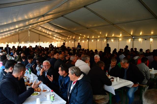 İsveç'in başkenti Stockholm'de, Diyanet İşleri Başkanlığına bağlı faaliyet gösteren Rinkeby Mevlana Cami Derneğince iftar programı düzenlendi.
