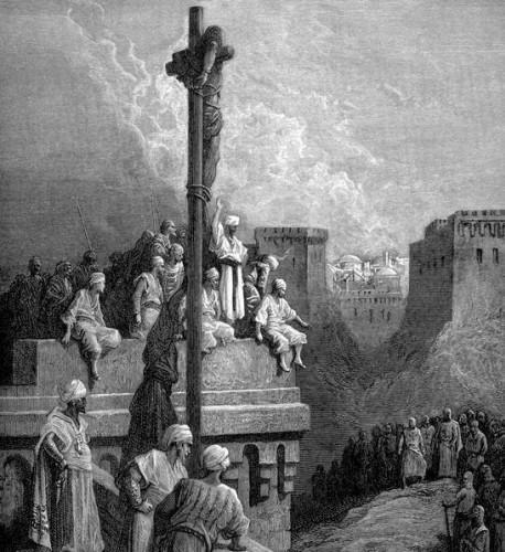 Çarmıha Germe  İnsan bedeninin çarmıha gerilerek yaşamına son verilmesi yöntemi, dünyanın en büyük dinlerinden birisi olan Hristiyanlığın peygamberi olarak kabul edilen İsa dolayısıyla belki de en ünlü idam yöntemlerinden birisidir.  Kaynak: line.do/tr