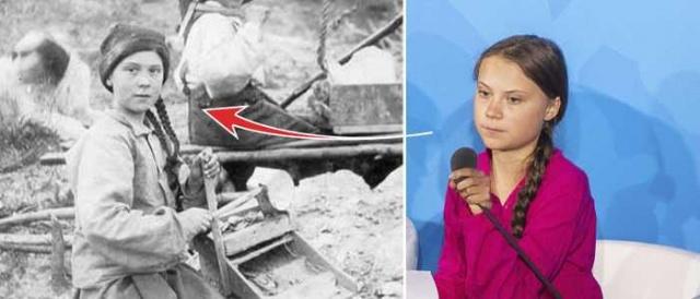 Dünya tarihine geçmiş ilk çocuk aktivist olan Greta Thunberg, farklı bir tartışmayla gündeme geldi.