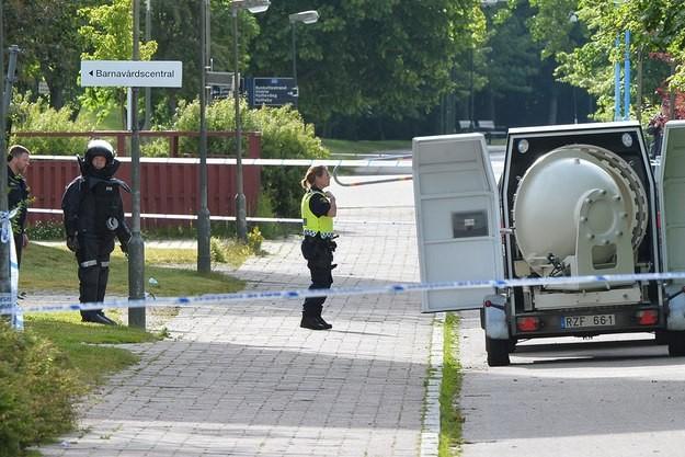 Malmö korku dolu saatler yaşıyor.
