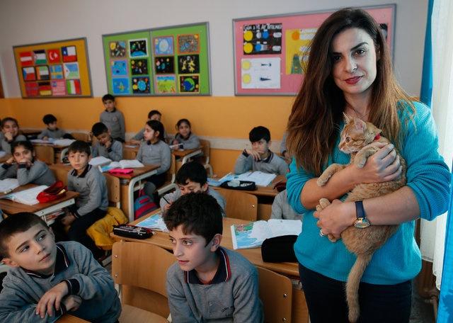 Sahiplenilene kadar sınıf öğretmeninin evinde misafir olan Tombi, öğrencilerden uzak kaldığı için yemeden içmeden kesilmiş ve depresyona girmişti.