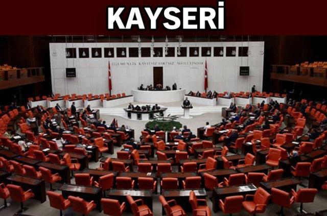 AK Parti: Mehmet Özhaseki, Mustafa Elitaş, Taner Yıldız, İsmail Emrah Karayel, İsmail Tamer, Hülya Nergis  MHP: İsmail Özdemir, Mustafa Baki Ersoy  CHP: Çetin Arık  İYİ Parti: Dursun Ataş