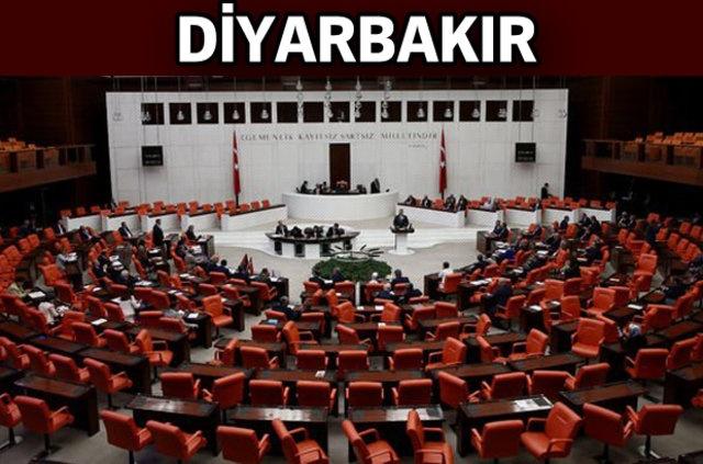 HDP: Adnan Selçuk Mızraklı , Saliha Aydeniz , İmam Taşçıer , Remziye Tosun , Hişyar Özsoy , Semra Güzel , Garo Paylan , Dersim Dağ , Musa Farisoğulları  AK Parti: Mehmet Mehdi Eker , Ebubekir Bal , Oya Eronat