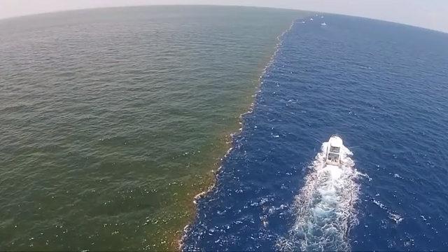 Dünya üzerindeki nehirler, okyanuslar veya denizler, içlerindeki mineral ve içerik farklılıkları nedeniyle farklı renklerde görünüyor.