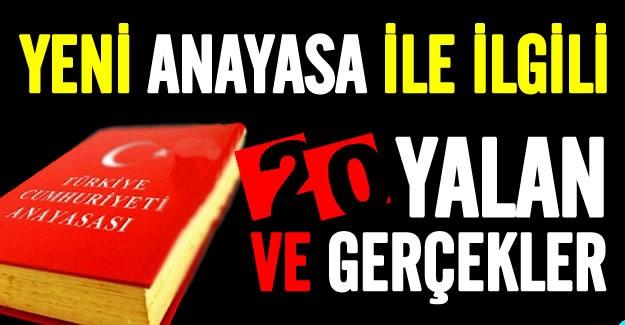 """Türkiye anayasa değişikliği referandumuna doğru giderken başta CHP olmak üzere vesayet odakları da algı operasyonlarına hız verdi. Eski Türkiye artıkları ve terör destekçilerinin """"Üniter devlet yapısı bozuluyor"""", """"diktatörlük olacak"""", """"hukuk bağımsızlığı rafa kalktı"""" şeklindeki iddialarını tek tek çürütüldü. İşte CHP'nin yalanları ve gerçekte olanlar..."""