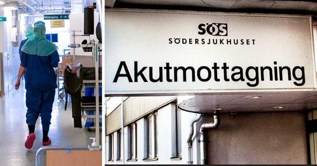 Södersjukhuset'in Stockholm'deki acil servisinde insanlar 24 saate kadar sıra beklemek zorunda kalıyor.  Acil servisle ilgili kırmızı alarm verildi. Hastane çalışanları sürdürülemez acilde sürdürülemez bir durum olduğu hakkında uyarıyor.  ST doktoru Johan Stormdal Starck, acil serviste uzun bekleme sürelerinden kaynaklanabileceğini düşündüğümüz ölümler var dedi.