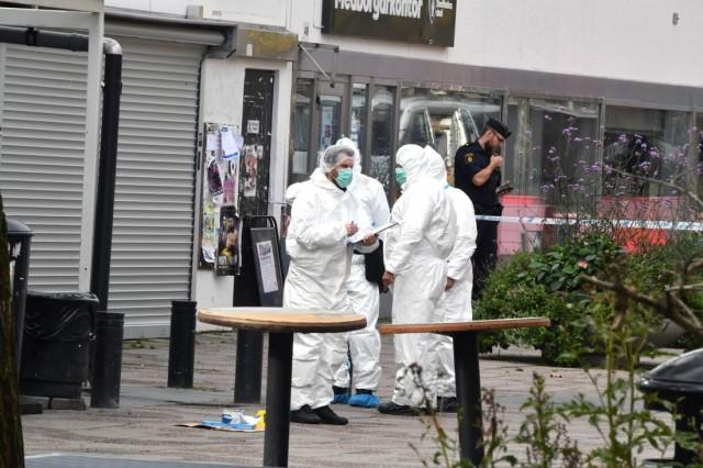 Tensta'daki korkunç cinayetin olay yeri görüntüleri