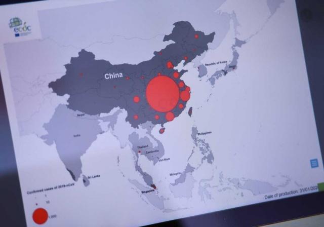 Korona virüsünün yayılmasını azaltmak için büyük bir koruyucu ekipman yok ve Çin AB'den yardım istedi, ancak İsveç katkıda bulunamıyor.