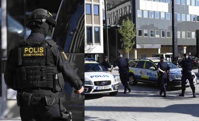 İsveç'in başkenti Stockholm'ün güneyinde bulunan Täby bölge polis karakoluna silahlı saldırı düzenleyen bir kişi polis tarafından etkisiz hale getirildi.