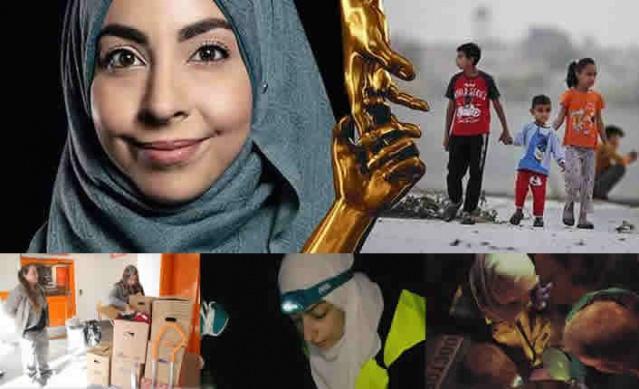 """İsveçli hemşire Israa Abdali Suriye'deki savaş bölgesinde yardıma muhtaç olanların yardımına koşuyor.  İsveç'li hemşire Israa Abdali, başkalarının cesaret edemediği bir işi yaparak, savaş mağdurlarına yardım etmek için Suriye'deki tehlikeli bölgelere gidiyor. Yaptığı iş ve yardımları nedeniyle övgü odağında olan Müslüman hemşire, 18 Aralık'ta düzenlenecek olan İsveç Kahramanları Gala'sında """"Dünyadaki İsveç Kahramanları"""" ödülü alacak."""