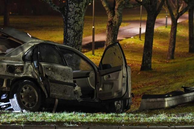 İsveç'in başkenti Stockholm'ün Hässelby bölgesinde feci bir kaza meydana geldi.