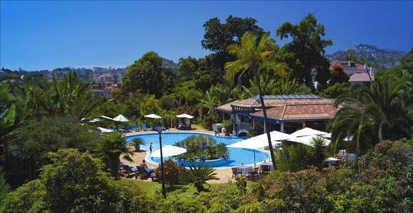 21 - Aria Hotel (Budapeşte, Macaristan)  22 - Quinta Jardins do Lago (Funchal, Portekiz)