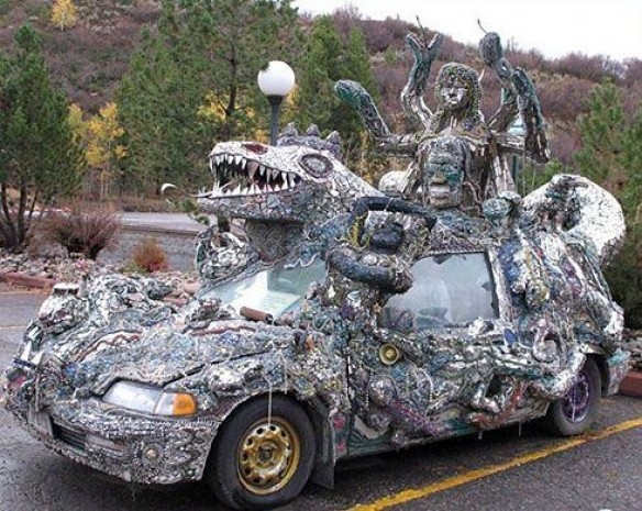 İşte dünyanın en ilginç otomobilleri