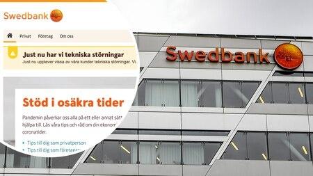Swedbank'ın internet hizmetleri ve uygulaması dün akşam saatlerinde tekrar kapandı.   Bankanın çevrimiçi hizmetlerinde son günlerde birçok kesinti yaşandı.