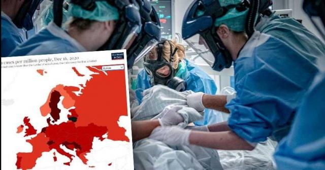 """İsveç, covid-19 enfeksiyonundan dünyanın en kötü etkilenen ülkelerinin ilk on listesine girdi.  Enfeksiyon doktoru Björn Olsen, hastalığın yakında daha da kötüye gitmesini bekliyor:  """"Listede daha da yükseleceğimizi düşünüyorum"""" dedi.  İsveç Halk Sağlığı Ajansı'na göre Perşembe günü İsveç, 9.659 vaka ile bir günde covid-19 ile vaka sayısında tüm zamanların en yüksek seviyesine ulaştı. Böylece, İsveç o gün dünyada üçüncü sırada yer aldı.  Our World in Data'ya göre, milyon kişi başına İsveç 956 yeni vaka, Liechtenstein 1.075 vaka ve en çok etkilenen Litvanya 1.169 vaka ile sonuçlandı.  Ancak günlük veriler değişken. Kısmen hafta sonları eksik raporlama nedeniyle büyük ölçüde farklılık gösterebilir."""
