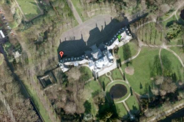 Huis Ten Bosch Sarayı, HOLLANDA   Hollanda kraliyet ailesine ait bu sarayın görüntüleri sansürlenmiş. Nedenine yönelik ise bir açıklama bulunmamakta.