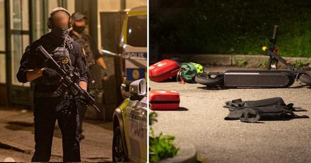 """Stockholm'ün kuzeybatısındaki çete çatışması """"kırmızı"""" olarak sınıflandırıldı.  Pazartesi günü, Tensta'da iki genç vurularak öldürülmesi olayından sonra bölgede alarma geçildi.  Yapılan soruşturma kapsamında polis çok daha büyük saldırıların gerçekleşebileceği yönünde uyarıda bulundu.  Stockholm'ün kuzeybatısındaki Tensta'daki çifte cinayet Pazartesi gecesi meydana geldi.  20'li yaşlarında iki genç cansız bulundu. Daha sonra ölü olarak telaffuz edildiler. Edinilen bilgilere göre, kafalarından da dahil olmak üzere çok sayıda kurşunla vurularak öldürüldüler.  Aynı bilgilere göre, her iki cinayet kurbanı da bölgedeki bir suç şebekesiyle bağlantılı."""