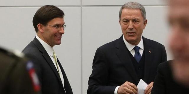 Milli Savunma Bakanı Hulusi Akar, NATO Savunma Bakanları Toplantısı kapsamında geldiği NATO Karargahı'ndaki temasları devam ediyor.