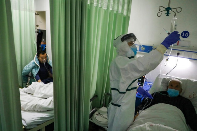 Çin'in yeni tip koronavirüs (Kovid-19) salgının merkez üssü Hubei eyaletinde son 24 saatte can kaybında 242 artış oldu.