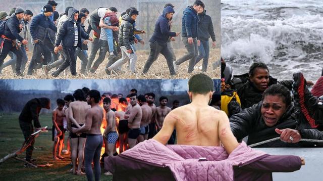 """Yunanistan sınırından gelen görüntüler yürek yakıyor. Soğukta battaniyeye sarılmış çocuklar, cılız bir ateş etrafında ısınmaya çalışan çaresiz insanlar. Sınırdan geçtiği için coplanan ve üzerindeki elbisesine kadar soyulan gençler. Gözlerde """"İnsanlık bu kadar öldü mü?"""" diye soran ifadeleri. Dikenli tel örgüler, göz yaşartıcı gaz, silah sesleri, açık denize geri itilen mülteci tekneleri. Yunanistan sınırındaki bu çirkin manzara, aynı zamanda Avrupa'nın da çirkin yüzü oldu. AB üyesi ülkeler, Yunan sınırındaki bu manzarayı daha dramatik hale getirecek takviye sınır polis gücü ve helikopterler gönderiyor. Her seferinde 'Hıristiyan Batı değerlerini' öne çıkaran ve 2015 mülteci krizinde insani yüzünü gösteren Avrupa, şimdi bu değerlere sırt çevirmiş durumda. 2015'in bir daha yaşanmaması için etrafına kale duvarları örüyor."""