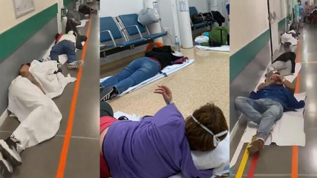 İspanya corona virüsten yara almaya devam ediyor. Ülke vakalarla dolup taşarken Madrid'de bir hastaneden çekilen görüntüler vehameti gözler önüne serdi.  Çin'in Hubey eyaletine bağlı Vuhan kentinde ortaya çıkan ve birçok ülkeye yayılan yeni tip corona virüsün (Covid-19) dünya genelinde bulaştığı kişi sayısı 339 bini aştı. Salgınında can kaybı 14 bin 700'ü aştı.
