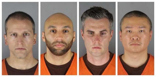 ABD'de siyahi George Floyd'u gözaltına alırken diziyle boynuna bastırarak ölümüne neden olan polis memuru Derek Chauvin hakkındaki 3. dereceden cinayet suçlaması düşürüldü.  Hennepin bölge mahkemesi hakimi Judge Peter Cahill'in kararı kamuya duyurulurken, Chauvin'in 2. dereceden cinayet ve adam öldürme suçlamalarından yargılanmasına devam edileceği kaydedildi.